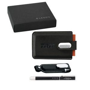 Executive USB Flashdrive Gift Set - decorated