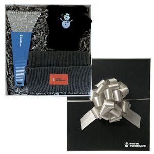 Winter wonderland gift set in black box